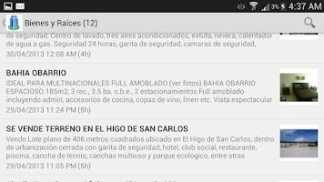 Screenshot of Clasificados de Panama