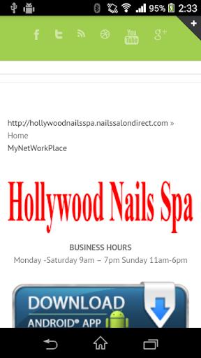 Nails Salon Tucson Hollywood