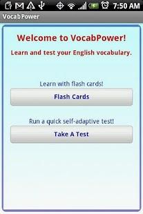 VocabPower- screenshot thumbnail