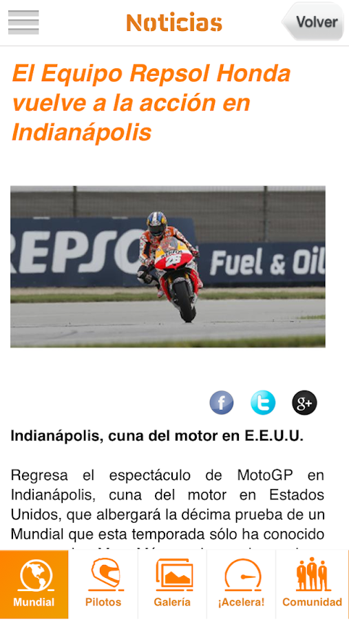 Box Repsol MotoGP - screenshot
