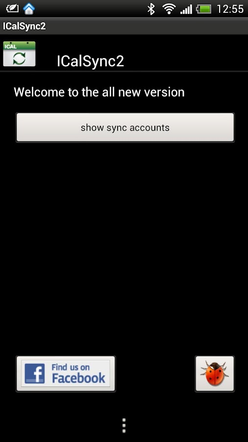 ICalSync2 - screenshot