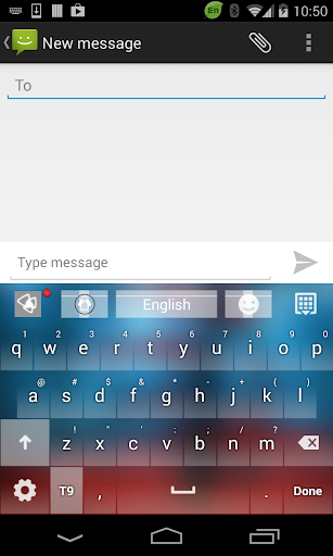 Foggy Forest Go Keyboard Theme