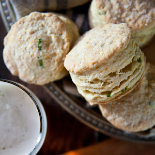 Sour Cream Cheddar Beer Biscuits
