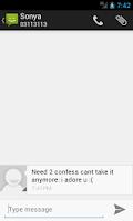 Screenshot of SMS Prank