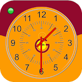 Galatasaray Analog Clock