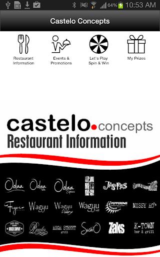 Castelo Restaurants Spin Win