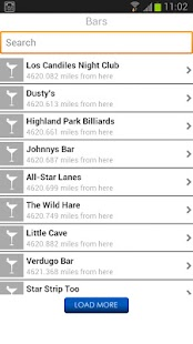 Los Angeles Nightlife Guide - screenshot thumbnail