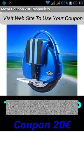 MeYa Store Coupon Monociclo T3