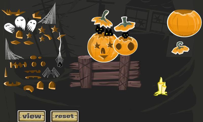 Jack -O- Lantern Designer - screenshot