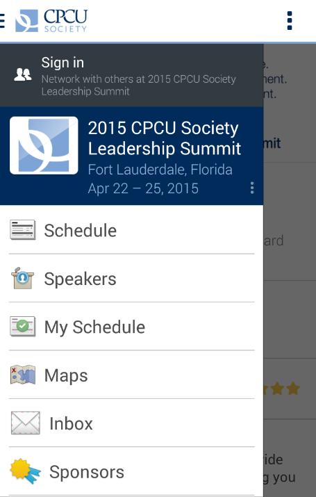 CPCU Society- screenshot