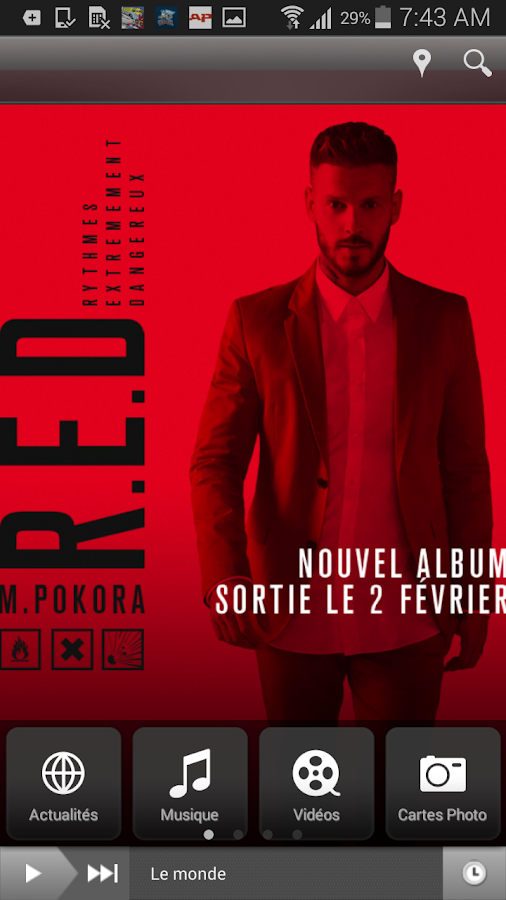 M Pokora- screenshot