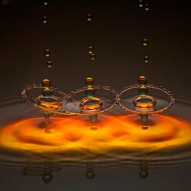 by Irwan Budiman - Abstract Water Drops & Splashes