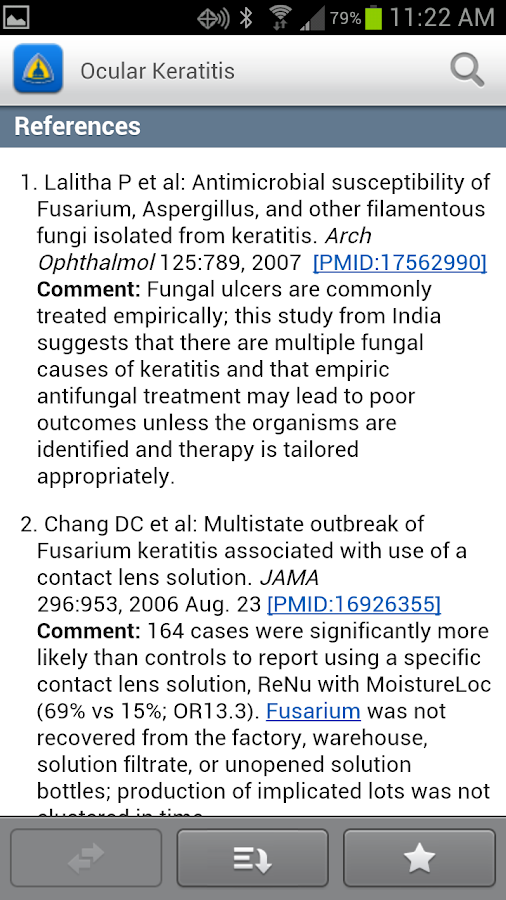 Johns Hopkins ABX Guide - screenshot