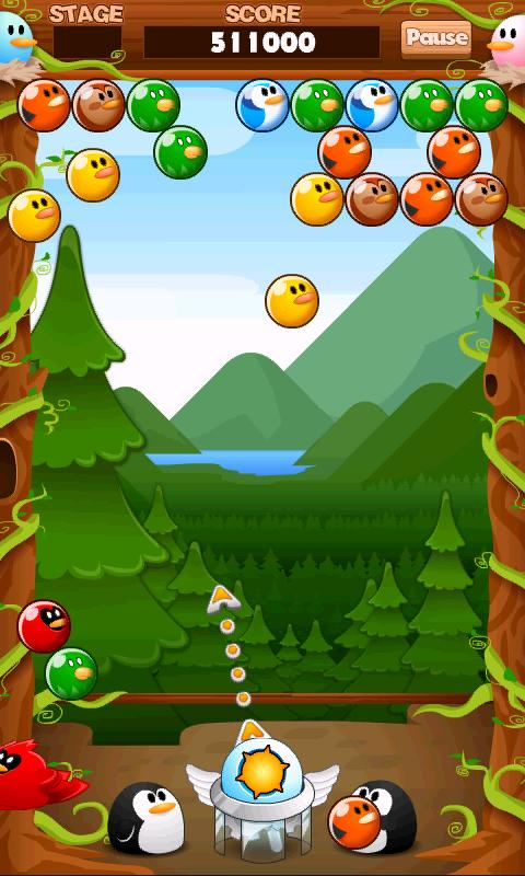 Birds and Bubbles HD FREE - screenshot