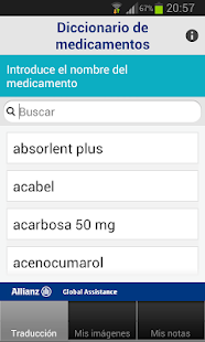 My Travel Doctor: miniatura de captura de pantalla