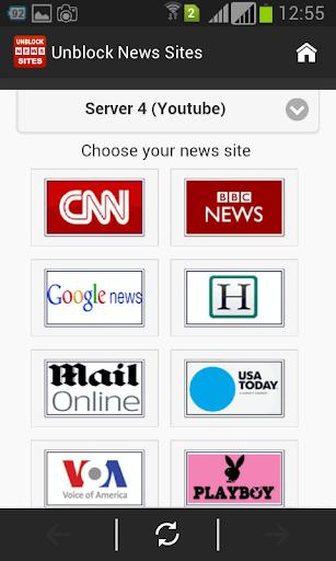 Unblock News Sites