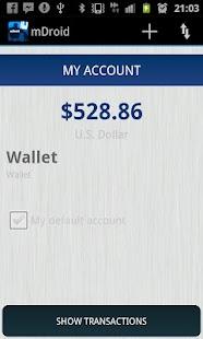mDroid: Money Manager- screenshot thumbnail