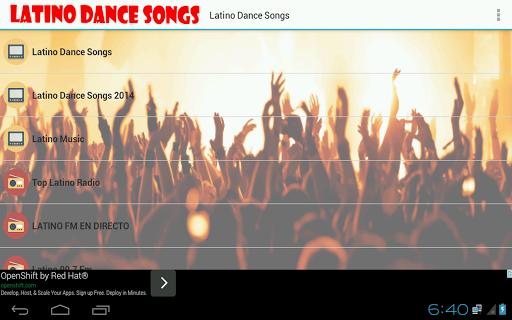 Latino Dance Songs