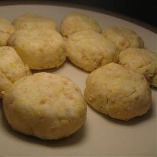 Chinese-Style Peanut Cookie