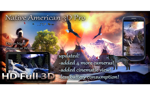ایپس Native American 3D Pro Android کے لئے screenshot
