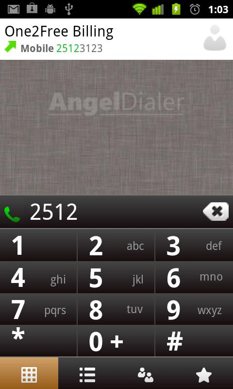 Angel Dialer Pro- screenshot