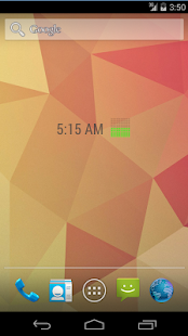 Pixel Roboto Battery Widget- screenshot thumbnail