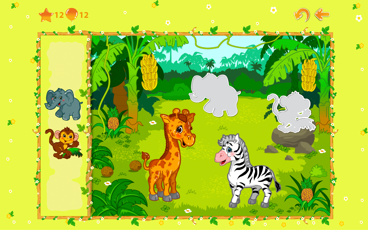 Animal puzzles for toddlers 1+ screenshot #17