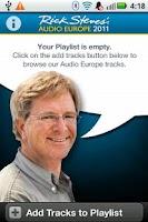 Screenshot of Rick Steves Audio Europe™