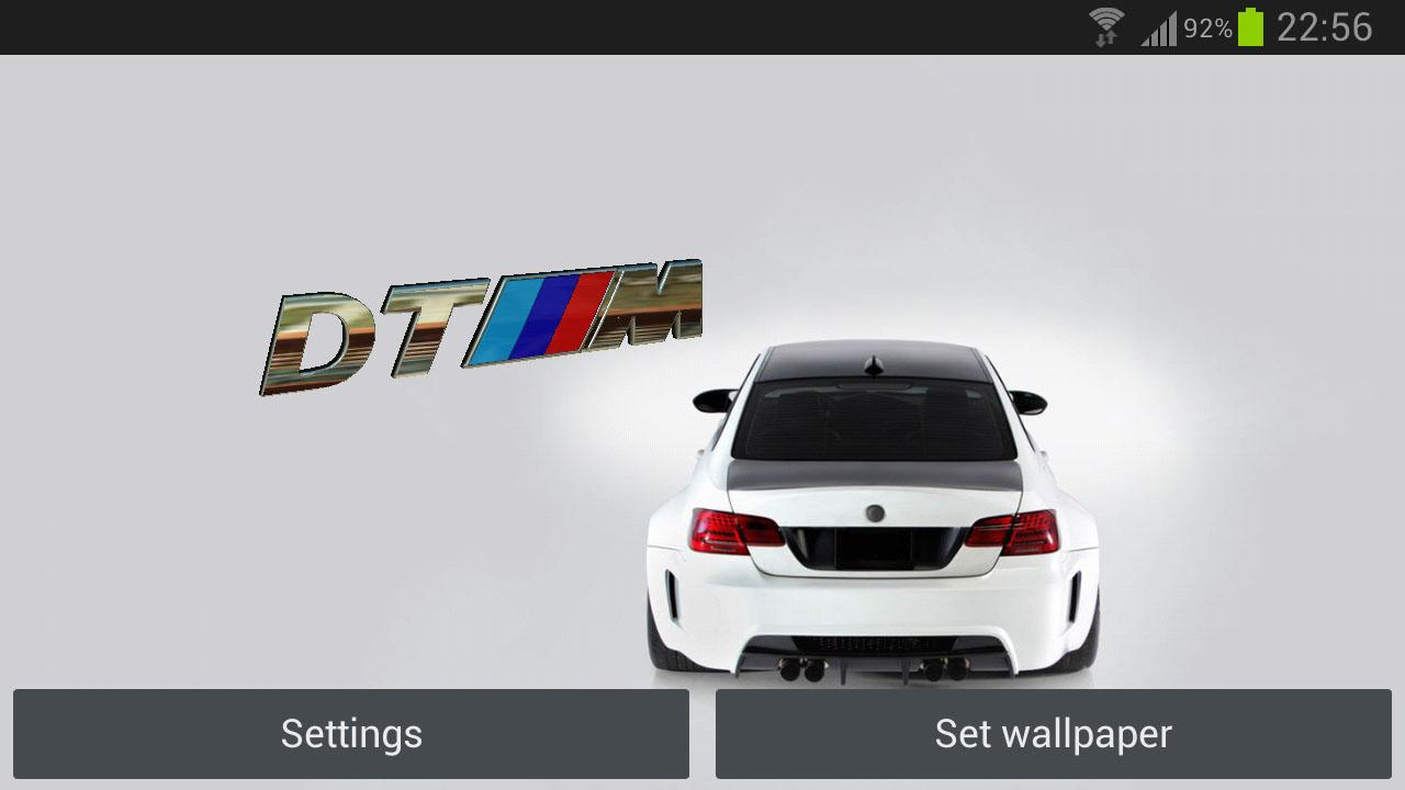 3D BMW Logo HD Live Wallpaper - screenshot