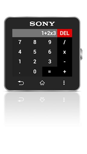 Calc for SmartWatch 2