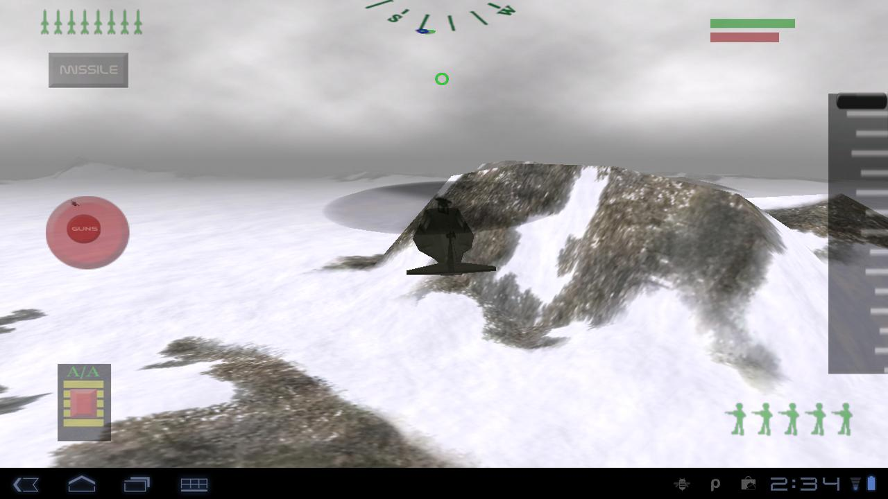 Stealth Chopper 3D - screenshot