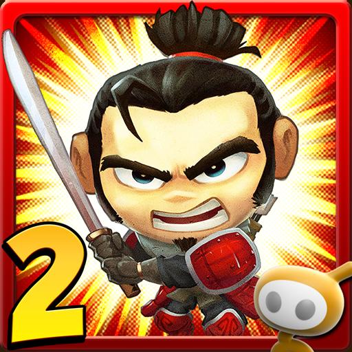 サムライ vs ゾンビ 2 動作 LOGO-玩APPs