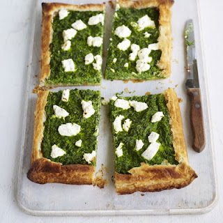 Spinach & Goat'S Cheese Puff Recipe