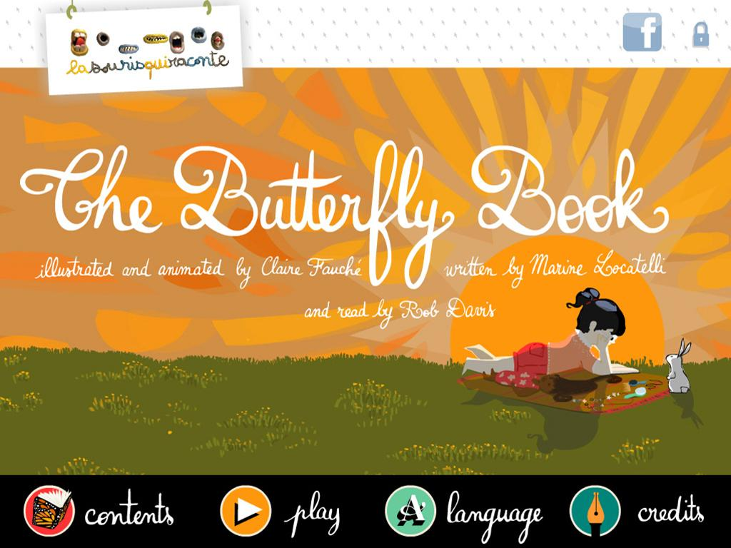 The Butterfly book- screenshot