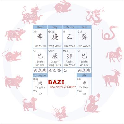 Bazi Lite(Chinese Astrology)