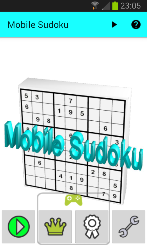 Mobile Sudoku- screenshot