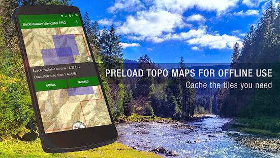 BackCountry Navigator TOPO GPS- screenshot thumbnail