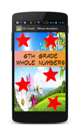 6th Grade - Whole Numbers