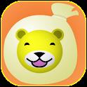 Animal laugh bag (for Infant) logo