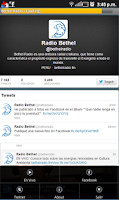 Screenshot of Bethel Radio
