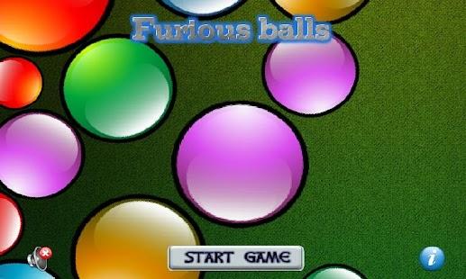 Furious balls- screenshot thumbnail