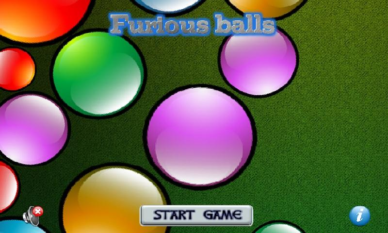 Furious balls- screenshot