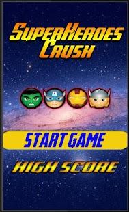 Super Hero Crush Match 3 Free