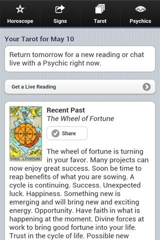 Astrolis Horoscope & Tarot - screenshot