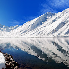 Lake Saif Ul Malook Naran Pakistan by Sajjad Khan - Landscapes Waterscapes