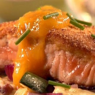 Corny Mango Salmon Recipe