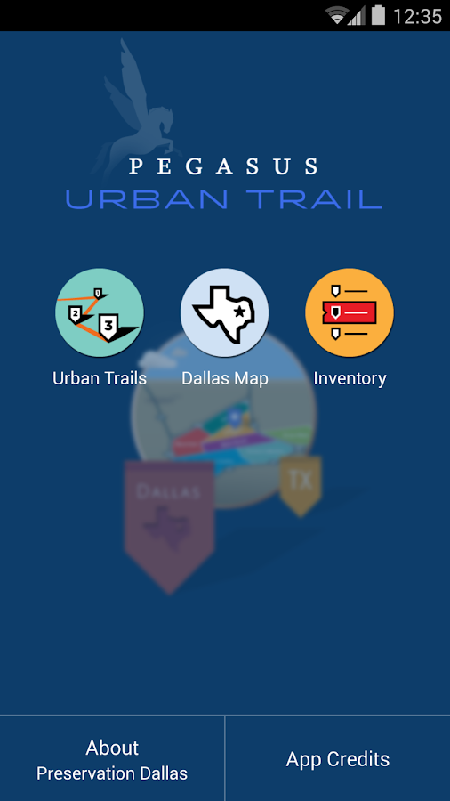 Pegasus Urban Trails- screenshot