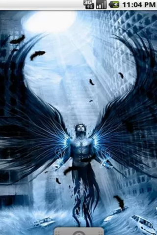 Dark Angel Live Wallpaper - screenshot
