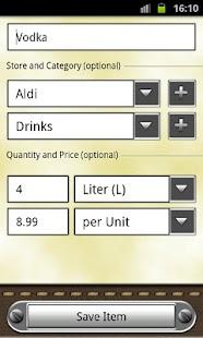 Grocery & Shopping List - screenshot thumbnail