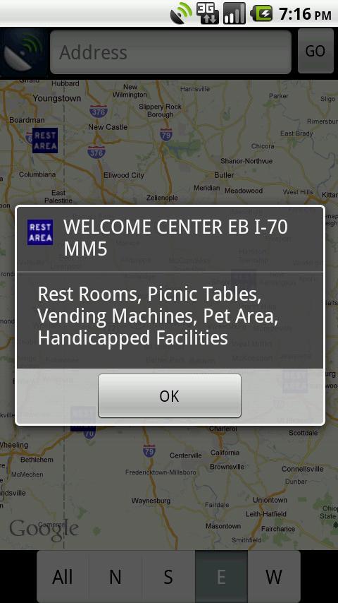 Rest Areas- screenshot